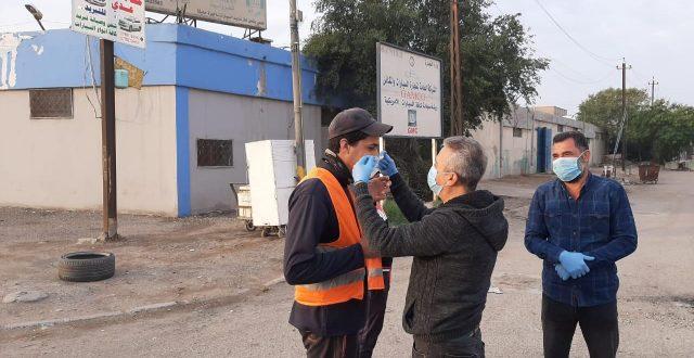 امانة بغداد : انشاء معمل لانتاج الكمامات الطبية