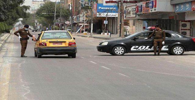 شرطة واسط: تسجل 256 مخالفة للعجلات كسر أصحابها حظر التجوال