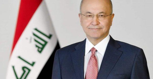 ولي عهد أبو ظبي لبرهم صالح: حريصون على التعاون مع العراق في هذه الظروف الصعبة
