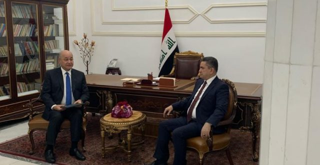 برهم صالح يكلف عدنان الزرفي لتشكيل الحكومة المقبلة