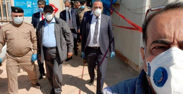 بالصور.. عبد المهدي يصل ميناء الفاو ضمن زيارته التفقدية إلى البصرة