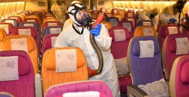 خسائر فادحة لقطاع الطيران العالمي بسبب كورونا
