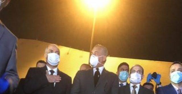 وزير النقل: المساعدات الصينية تضمنت كادر طبي يتكون من 7 خبراء