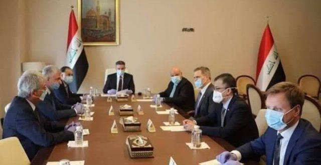 الزرفي يلتقي وزير الصحة ويطلع على اجراءات خلية الأزمة
