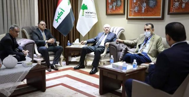 وزير الصحة والبيئة يستقبل ممثل منظمة الصحة العالمية في العراق