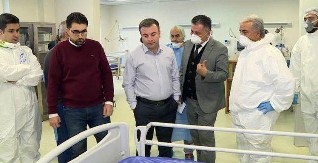 صحة النجف تعلن شفاء شخصين من المصابين بكورونا وسيغادرون مستشفى الحكيم ظهر اليوم