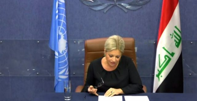 الآن.. بلاسخارت تصل إلى مبنى وزارة الصحة العراقية وتعقد اجتماعاً مع الوزير