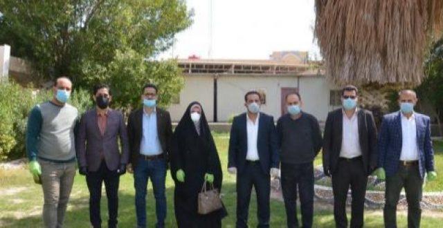 صحة النجف:تماثل مصابة بفيروس كورونا في المحافظة للشفاء ومغادرتها المستشفى