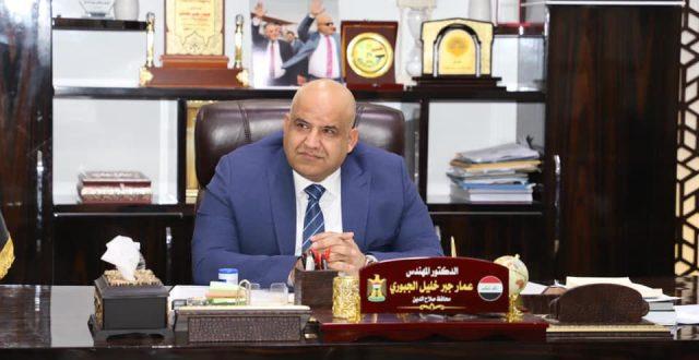 محافظ صلاح الدين يعلن إيقاف العمل بالاستمارة الأمنية واعتماد البطاقة الشخصية في السيطرات والمنافذ