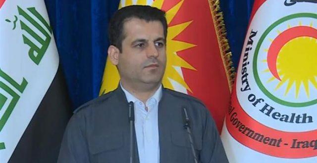 صحة كردستان تعلن ارتفاع حصيلة المصابين بكورونا إلى 40 شخصاً