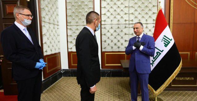 رئيس مجلس الوزراء مصطفى الكاظمي يدعو الشركات الأوروبية للعمل والاستثمار في العراق