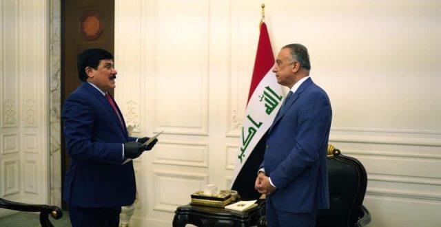 الكاظمي يستقبل السفير السوري في بغداد ويؤكد أن إستقرار المنطقة مرهون بإستقرار العراق وسوريا