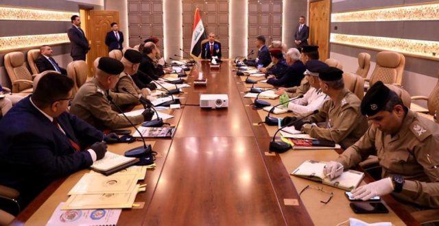 وزير الداخلية يترأس اجتماعا لخلية الازمة لمواجهة فايروس كورونا