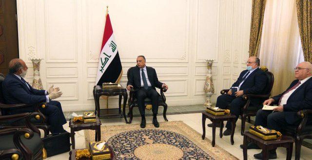 الكاظمي يستقبل الممثل الخاص لبعثة البنك الدولي في العراق