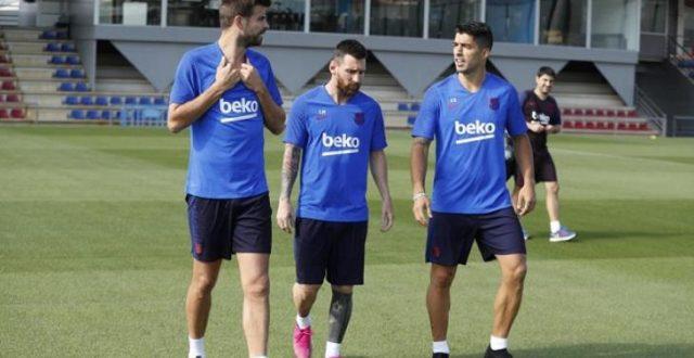 بعد الانقطاع لأشهر.. برشلونة يبدأ المرحلة الثانية من التدريبات