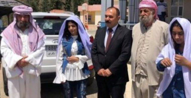 بعد 6 سنوات على اختطافهما من قبل داعش.. ايزيديتان تعودان إلى ذويهما باقليم كردستان