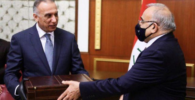 بالصور..هكذا تم تسليم الحقائب الى الحكومة الجديدة والسؤال هل هو مجرد صور ام بداية لمستقبل عراق افضل؟