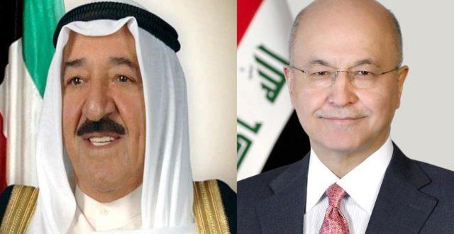 أمير الكويت يبعث برقية تهنئة لبرهم صالح بالتصويت على الحكومة الجديدة