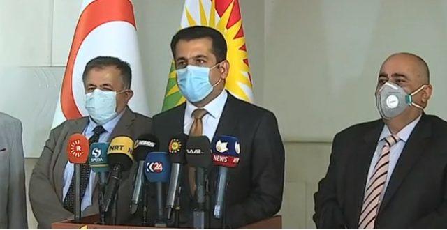 وزير صحة الإقليم يحذر من موجات كورونا ويؤكد: التزامكم بالحظر سيوقف انتشار الفيروس