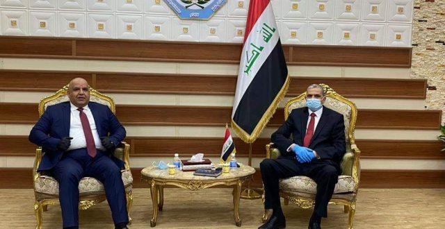 وزير الداخلية يتفق مع محافظ صلاح الدين على خطة شاملة أمنية لتعزيز الاستقرار في المحافظة