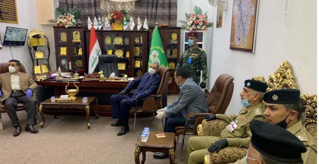 وزيرا الدفاع والداخلية يصلان إلى محافظة البصرة