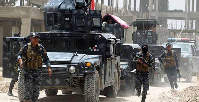 الإعلام الامني تعلن مقتل عنصرين من داعش هاجما فوجاً للشرطة الاتحادية