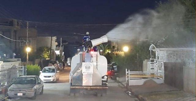 أمانة بغداد تعلن اجراء أكثر من 1000 حملة تعفير