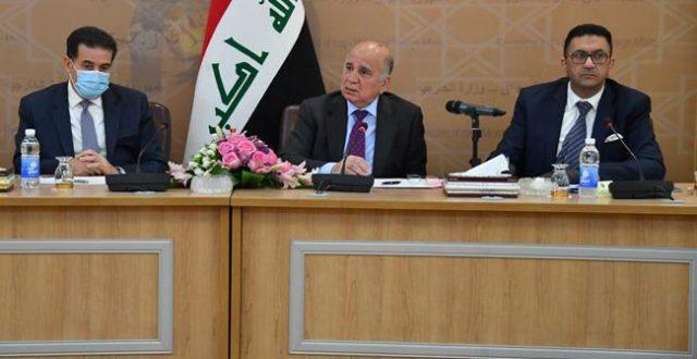 وزير الخارجية يلتقي سفراء الدول الأوروبية لدى العراق