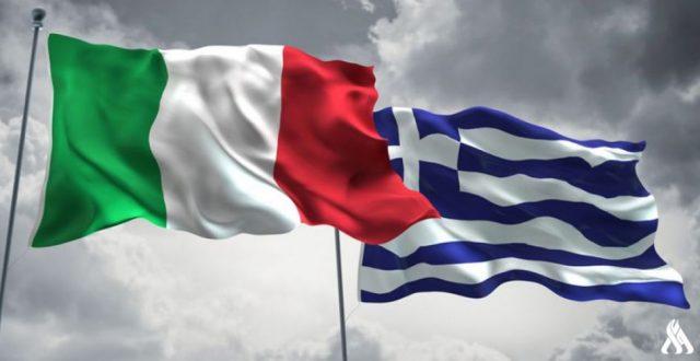 توقيع اتفاقية بين ايطاليا واليونان لترسيم الحدود البحرية بين البلدين