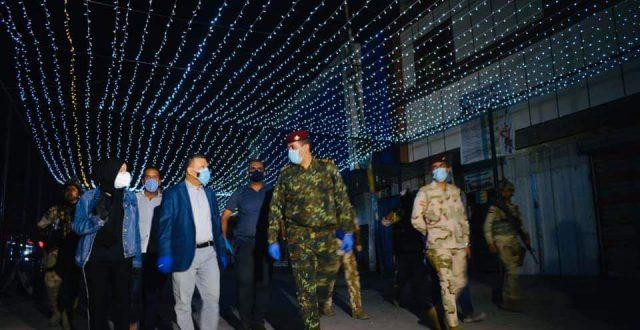 بالصور….بتوجيه مباشر وبجهود ذاتية من محافظ بغداد بلدية المحمودية تطوير مدخل بغداد الجنوبي
