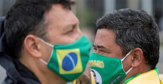 نتيجة مخيبة لمسحة كورونا الثالثة للرئيس البرازيلي
