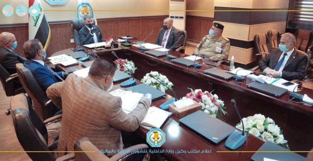 وكيل الوزارة للشؤون الإدارية والمالية الفريق عبد الحليم فاهم الفرهود يترأس لجنة رأي الوكالة الإدارية