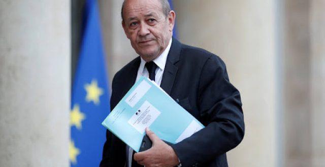 وزير الخارجية الفرنسي يحدد هدف زيارته إلى بغداد: لا يمكن التفريط بسيادة العراق