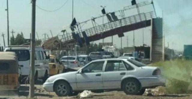 أمانة بغداد تعلق على أنهيار جسر حيوي في العاصمة: خارج نطاق حدودنا