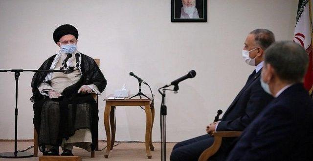 خامنئي :ايران تريد عراقا قويا يتمتع بسيادتهه وهذا ما لا تريدهه واشنطن للعراقيين