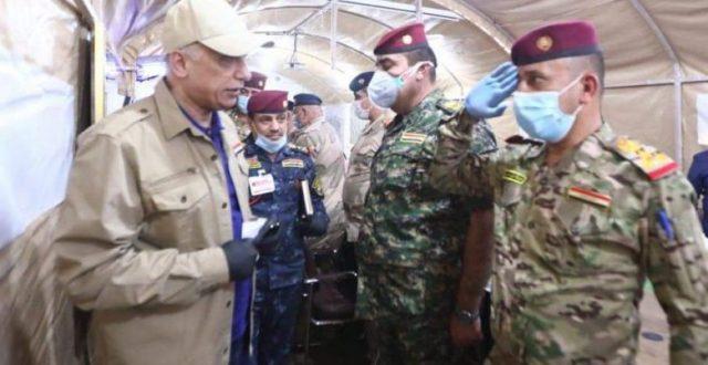 الكاظمي يصل إلى ديالى للإشراف على العمليات الحدودية