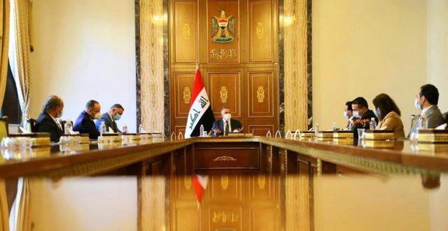 الكاظمي يستقبل رئيس وأعضاء مجلس أمناء شبكة الإعلام العراقي