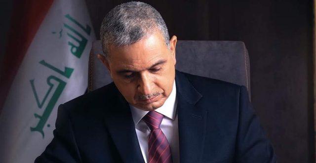 وزير الداخلية عثمان الغانمي يصل إلى أربيل