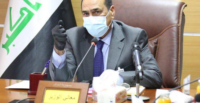 وزير النقل ينفي انباء التعاقد مع شركة الولاية الايرانية لنقل المسافرين من والى مطار بغداد الدولي