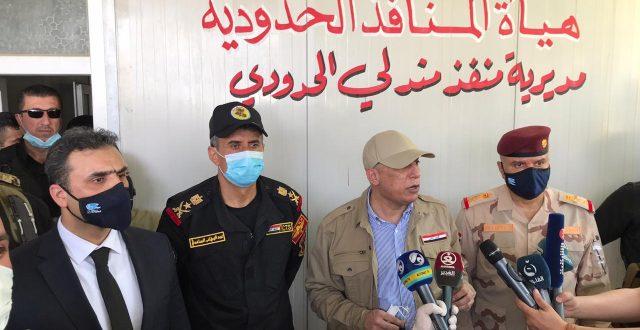 بالصورة.. الكاظمي يعيد افتتاح منفذ مندلي