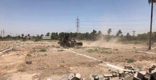 أمانة بغداد: مستمرون بمنع البناء في الاراضي الزراعية