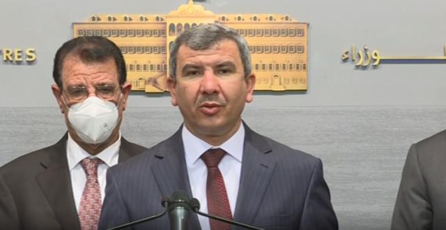 وزير النفط العراقي: ناقشنا آليات تصدير النفط إلى لبنان