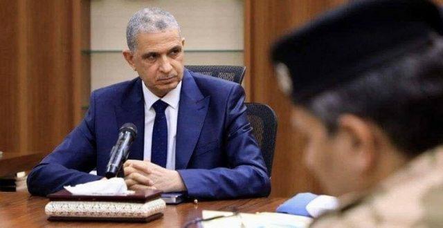 وزير الداخلية عثمان الغانمي يصل البصرة