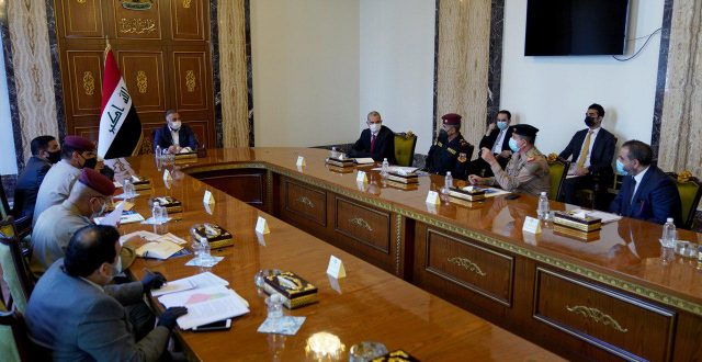 الكاظمي يترأس اجتماعاً ضمّ عددا من قادة الأجهزة الأمنية