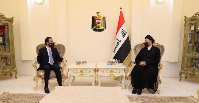رئيس مجلس النواب يلتقي رئيس تحالف عراقيون