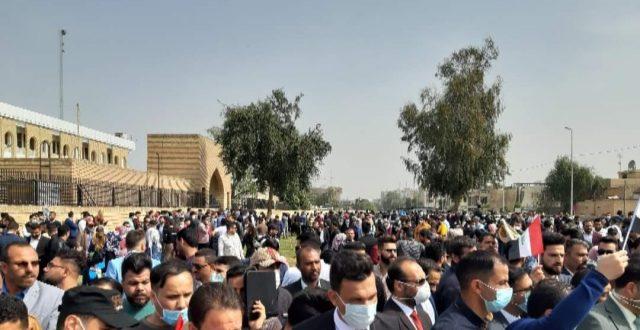 حسن الكعبي يدعو لإنهاء معاناة أصحاب الشهادات العليا ويحث الحكومة للإستماع الى مطالبهم