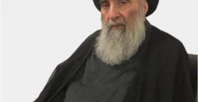 بعد بلوغه 90 عاماً.. صورة جديدة للمرجع الأعلى السيد علي السيستاني التقطت يوم أمس