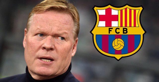 برشلونة يعلن تسمية كومان مدرباً للنادي حتى 2020