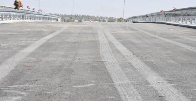 افتتاح جسر مهم في الانبار اليوم