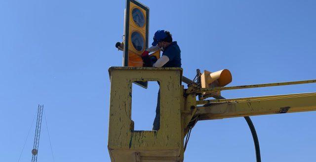 امانة بغداد تنجز صيانة الاشارات الضوئية المرورية لـ 99 تقاطعاً في العاصمة